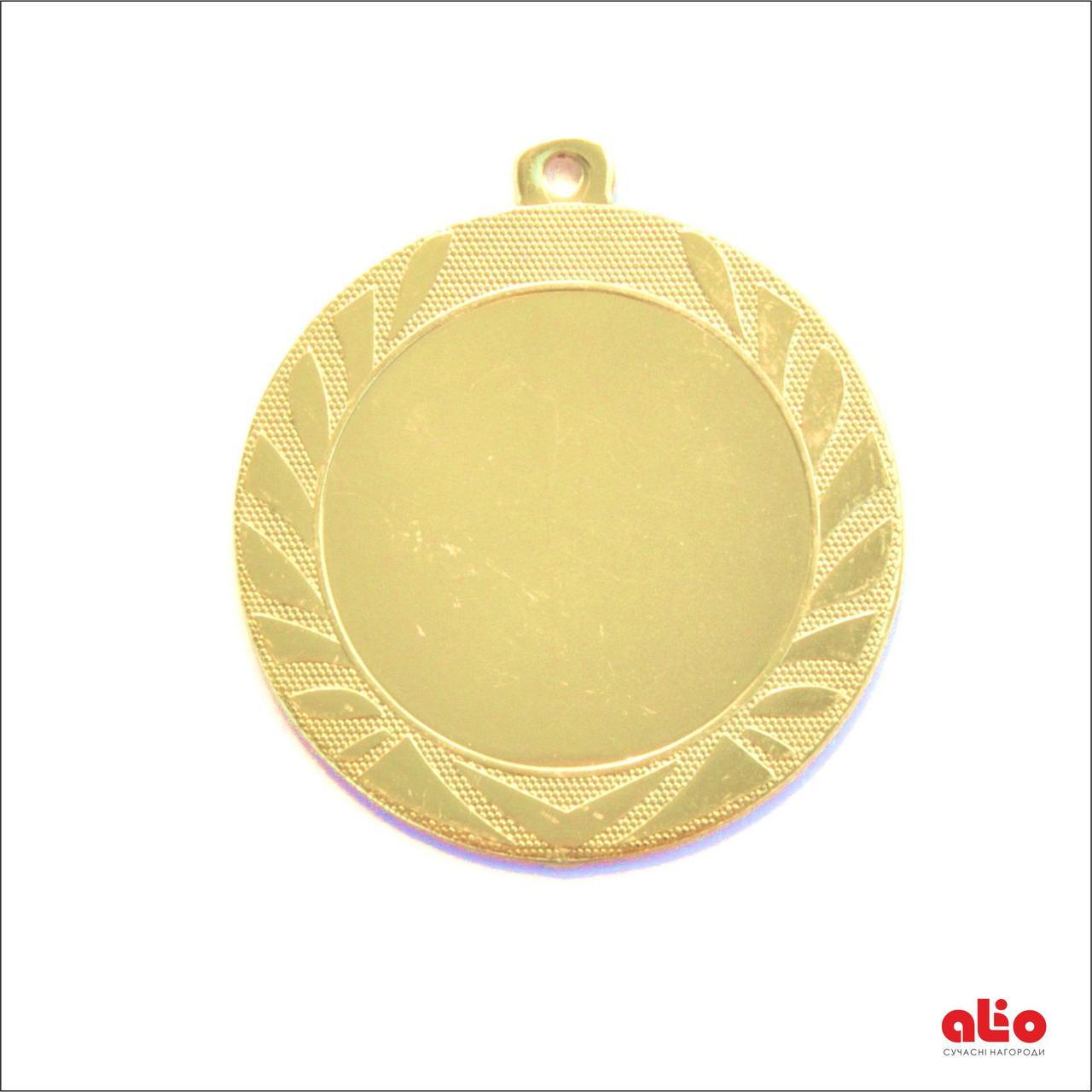 Медаль Д313 золото 70 мм