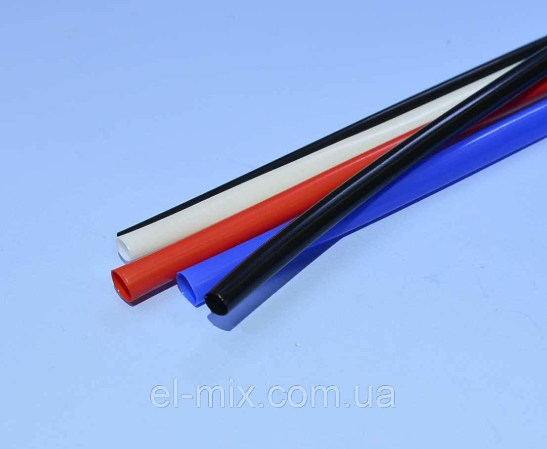 Трубка термоусадочна RSFR-105 D3.0/d1.5мм VW-1 червона, 1м 16-0103, Китай