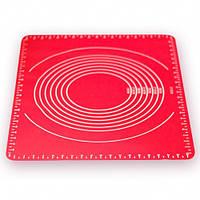 Силиконовый коврик для выпечки раскаточный Stenson HH-667 64x45x0.1 см