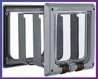 Trixie  TX-38642  дверца для кота 4-Way Cat Flap with Tunnel (15,8х14,7см,2 магнита)