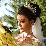 Marry-Elizabeth - Діадема копія улюбленої корони Єлизавети 2ї (6см), фото 6
