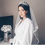 Marry-Elizabeth - Діадема копія улюбленої корони Єлизавети 2ї (6см), фото 4