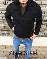 Мужская куртка черная хаки 44-46 48-50 52-54