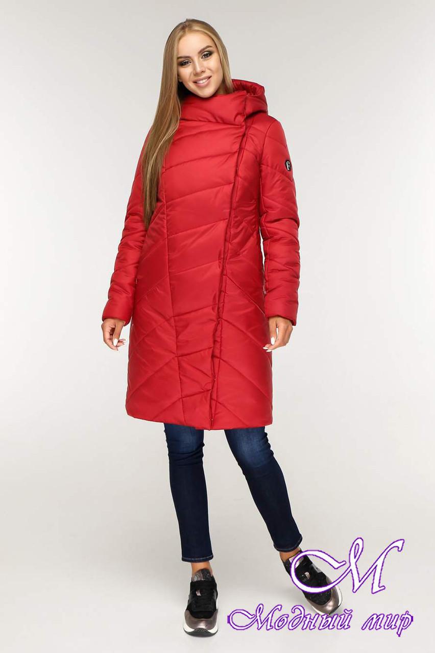 Женская теплая зимняя куртка (р. 44-58) арт. 1143 Тон 76