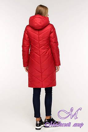 Женская теплая зимняя куртка (р. 44-58) арт. 1143 Тон 76, фото 2