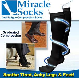 MIRACLE SOCKS Антиварикозные носки, фото 2