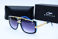 Солнцезащитные очки Cazal 8010 черные с синим, фото 1