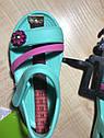 Стильные ментоловые сандалии с цветочком Crocs Крокс Lina Sandals (Размер  с8 (24) Оригинал (США), фото 4