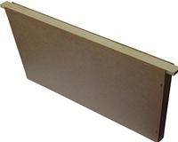 Заставная доска Дадан 435х300, утепленная пенопластом (диафрагма)