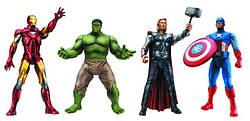 Герои Marvel и DC