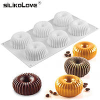 Силиконовая форма для  евро десертов Mini Raggio Мини Радиус, фото 1