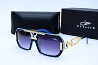 Солнцезащитные очки Cazal 8012 черные с синим, фото 1