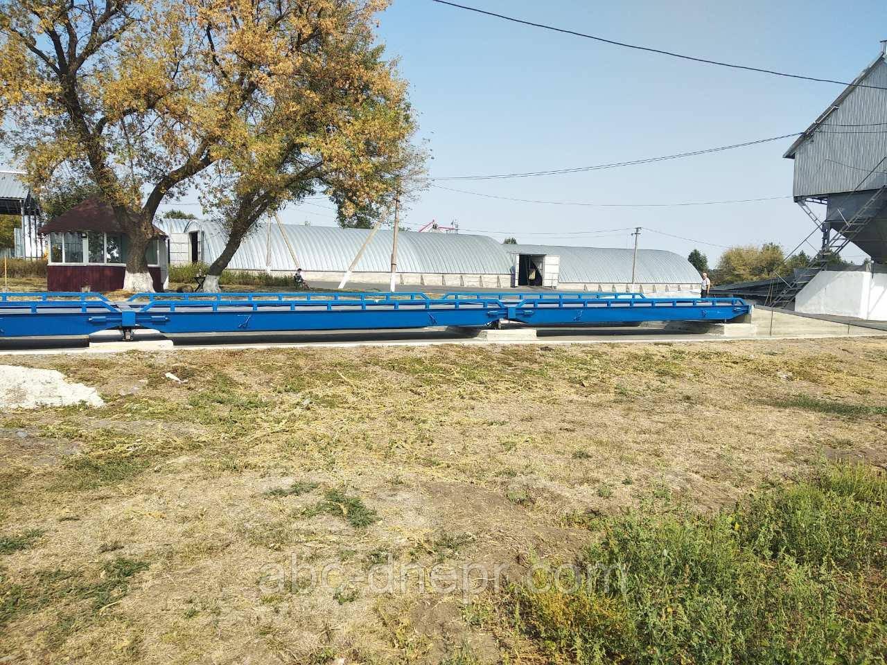 Автомобильные весы 18 метров 80 тонн ВА18-80-U10