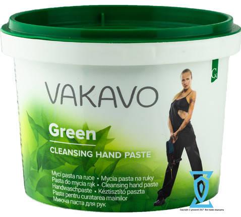 Паста для рук, очищающая Vakavo Green Автопаста, фото 2