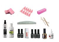 Стартовый набор Kodi для покрытия ногтей гель-лаком