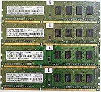 Комплект оперативной памяти Unifosa DDR3 8Gb (4*2Gb) 1333MHz PC3 10600U CL9 (HU524303EP0200) Б/У, фото 1