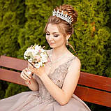 Marry-Elizabeth - Діадема копія улюбленої корони Єлизавети 2ї (6см), фото 3