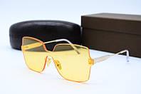 Солнцезащитные очки Celine желтые, фото 1