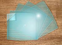 Стекло поликарбонат 90/110 мм полукруглое для WH7401, 8512 (слюда)