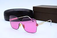 Солнцезащитные очки Celine малиновые, фото 1
