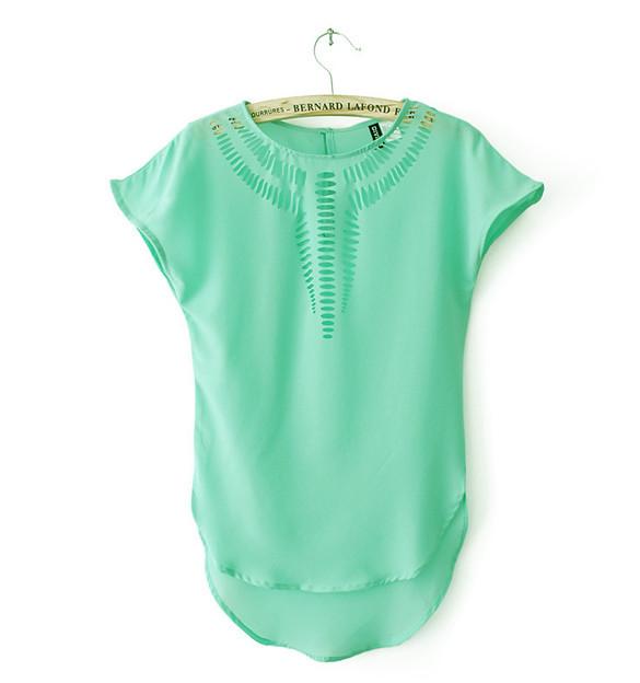 Уценка! Яркая блузка Naomi УСС-5222-40