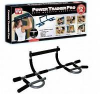 """Турник в дверной проем """"Power Trainer Pro"""" 12 видов упражнений для мужчин и женщин весом до 135 кг, фото 1"""