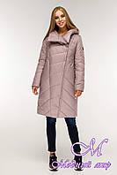 Женская зимняя куртка большого размера (р. 44-58) арт. 1143 Тон 2