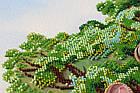 Набор для вышивки бисером Родовое древо (33 х 40 см) Абрис Арт AB-697, фото 3
