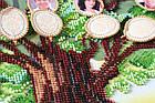 Набор для вышивки бисером Родовое древо (33 х 40 см) Абрис Арт AB-697, фото 6