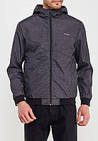 Куртка ветровка мужская с принтом JACK&JONES (комбинир)