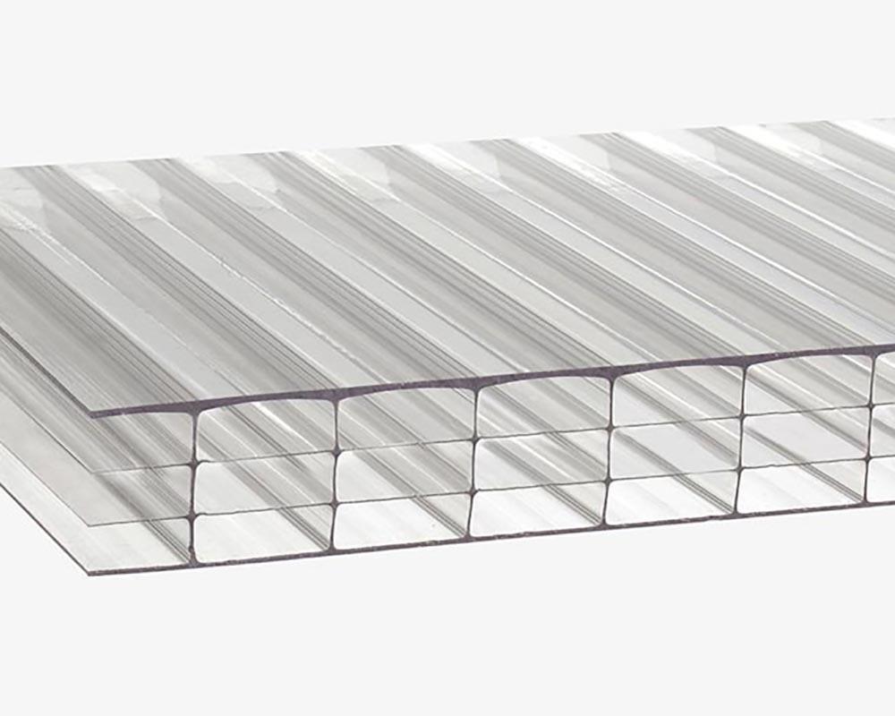 Сотовый поликарбонат ТМ Oscar Premium 8мм 4Н прозрачный 2100х6000мм