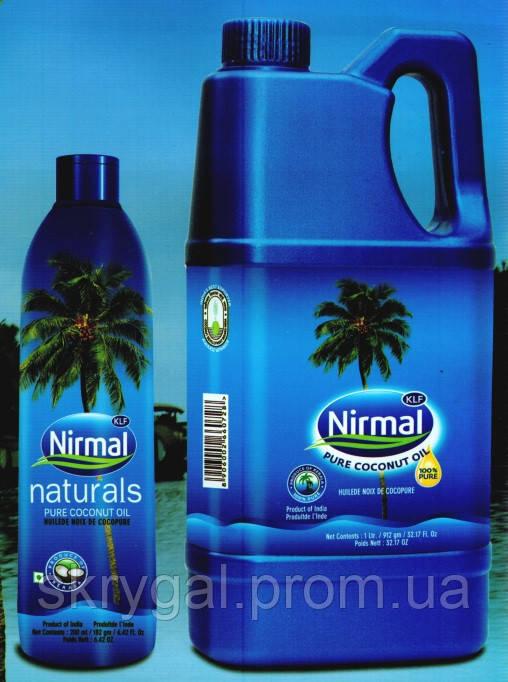 Кокосовое масло (пищевое). Nirmal. 2 литра.