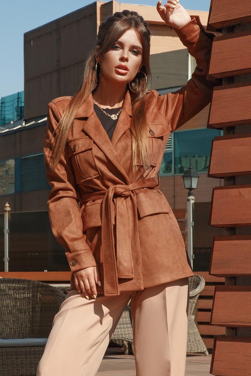 Женская замшевая куртка.Размеры:42-46.+Цвета