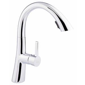 Смеситель для кухни с вытяжным изливом Q-tap Cult CRM 007