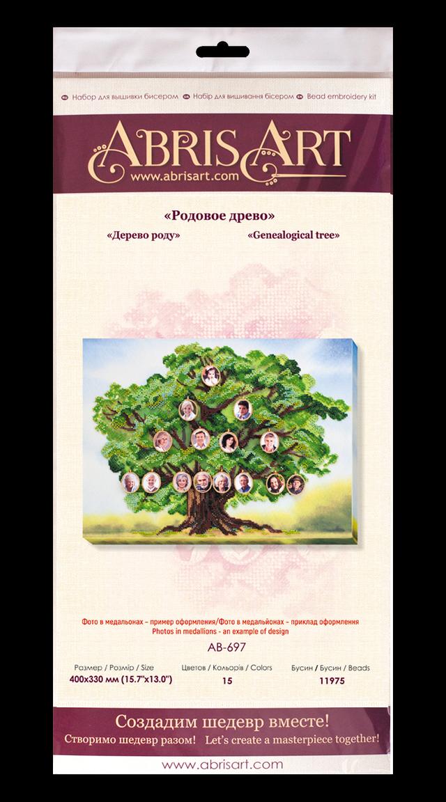 Набор для вышивки бисером Родовое древо