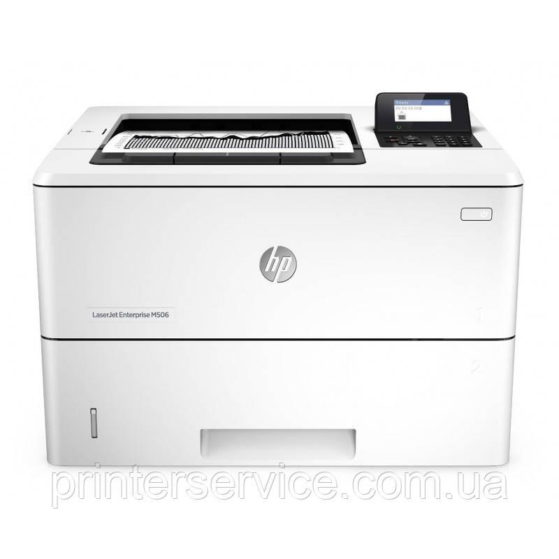 Бу принтер HP LaserJet M506dn в хорошем состоянии