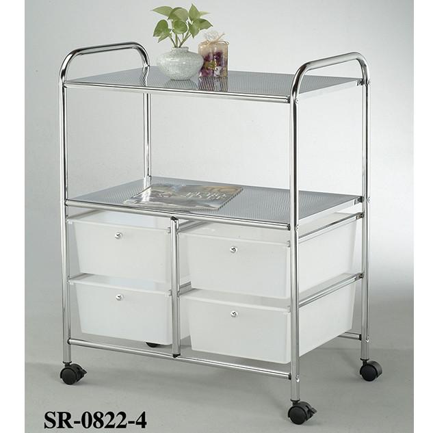 Столик сервировочный-тележка с ящиками «SR-0822-4»