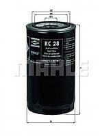 KC28 Фильтр топливный (TRUCK) (пр-во Knecht Mahle)