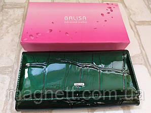 Женский кошелек BALISA из натуральной кожи (Зеленый)