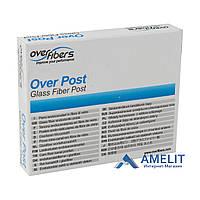 Штифты стекловолоконные Prosthetic Over Post, блистер (Overfibers), 10 шт./упак.