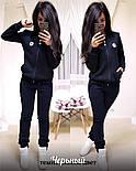 Женский утепленный спортивный костюм на флисе с мастеркой на молнии 1105725, фото 3