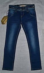 Детские джинсы для девочки синие (Венгрия)