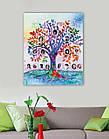 Набор для вышивки бисером Семейное дерево (33 х 40 см) Абрис Арт AB-698, фото 2