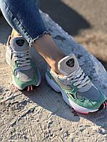 Кроссовки Adidas Falcon Grey Easy Green