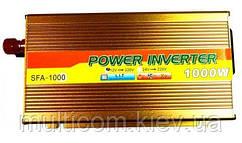 06-00-002. Инвертор c 12V в 220V Santer FAA-1000W + USB