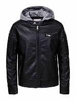 Куртка кожзам для мальчиков Glo-Story , 134-164 рр. Артикул: BPY9263 {есть:134,140,146,152,164}