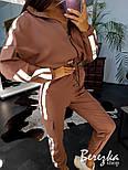 Женский костюм брючный с карго штанами и бомбером со светоотражающими вставками 6610192Е, фото 2