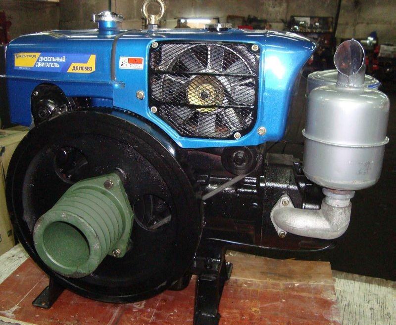 Двигатель дизельный Кентавр ДД1130ВЭ (34 л.с., стартер)
