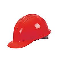 Каска строительная Украина (цвет красный)