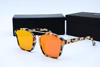 Солнцезащитные очки Dior оранжевые, фото 1